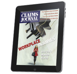 Claims Journal Magazine on the iPad